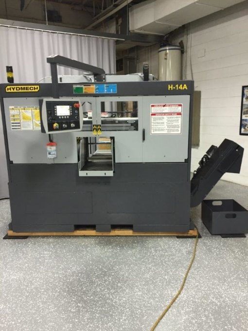 Detroit Band Saw Hyd-Mech H-14A