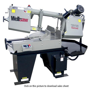 Manual Miter Head Band Saws